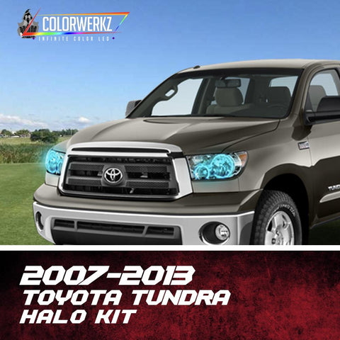 2007-2013 TOYOTA TUNDRA HALO KIT - Outrageous Lighting