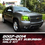 2007-2014 CHEVROLET SUBURBAN HALO KIT - Outrageous Lighting