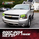 2007-2014 CHEVROLET TAHOE HALO KIT - Outrageous Lighting