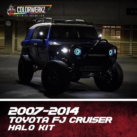 2007-2014 TOYOTA FJ CRUISER HALO KIT - Outrageous Lighting
