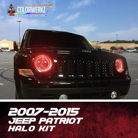 2007-2015 JEEP PATRIOT HALO KIT - Outrageous Lighting
