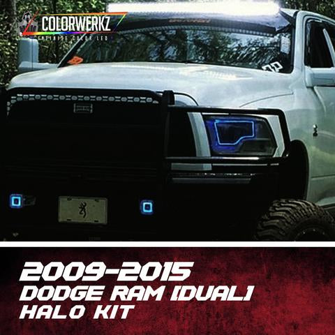 2009-2015 DODGE RAM (DUAL) HALO KIT - Outrageous Lighting