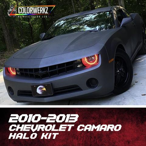2010-2013 CHEVROLET CAMARO HEADLIGHT HALOS (RS OR NON RS) - Outrageous Lighting