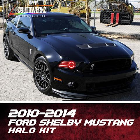 2010-2014 FORD SHELBY MUSTANG HALO KIT - Outrageous Lighting