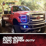 2011-2016 FORD SUPER DUTY HALO KIT - Outrageous Lighting
