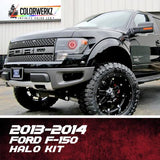 2013-2014 FORD F-150 RAPTOR HALO KIT - Outrageous Lighting