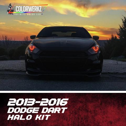2013-2016 DODGE DART HALO KIT - Outrageous Lighting