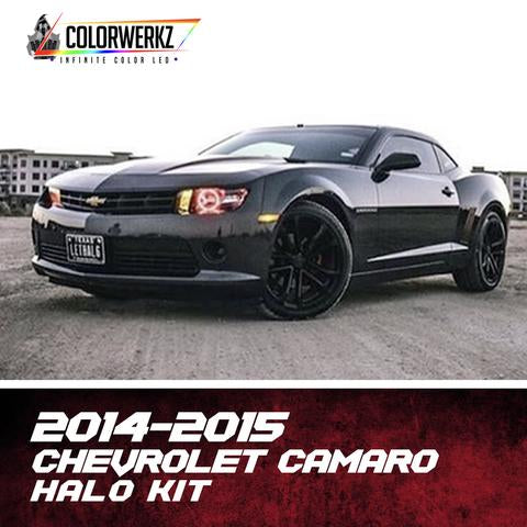 2014-2015 CHEVROLET CAMARO HEADLIGHT HALOS - Outrageous Lighting