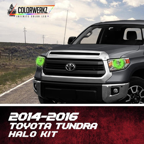 2014-2016 TOYOTA TUNDRA HALO KIT - Outrageous Lighting