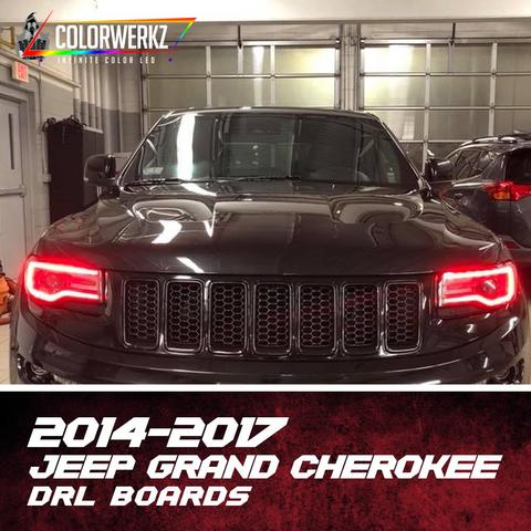 2014-2017 JEEP GRAND CHEROKEE DRL BOARDS - Outrageous Lighting