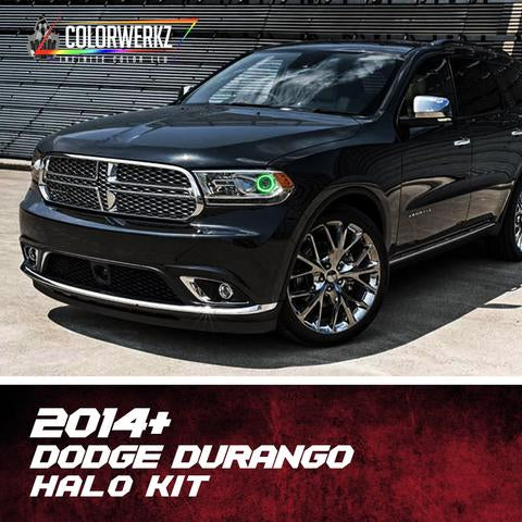2014+ DODGE DURANGO HALO KIT - Outrageous Lighting