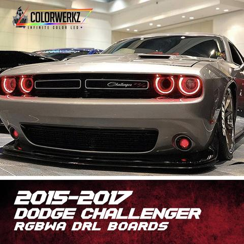 2015-2018 DODGE CHALLENGER RGBWA DRL BOARDS - Outrageous Lighting