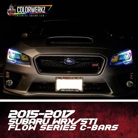 2015-2017 SUBARU WRX/STI FLOW SERIES C-BAR HALOS - Outrageous Lighting