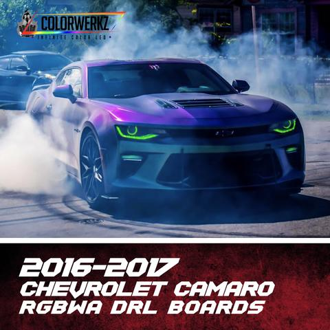 2016-2017 CHEVROLET CAMARO RGBWA DRL BOARDS - Outrageous Lighting