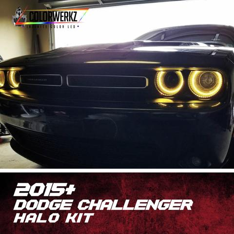 2015+ DODGE CHALLENGER HALO KIT - Outrageous Lighting