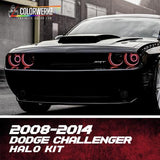 2008-2014 DODGE CHALLENGER HALO KIT - Outrageous Lighting