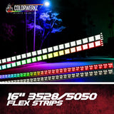3528/5050 RGB FLEX STRIPS - Outrageous Lighting