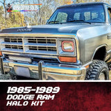 1985-1989 DODGE RAM HALO KIT - Outrageous Lighting