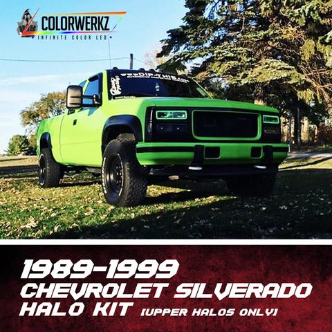 1989-1999 CHEVROLET SILVERADO HALO KIT (UPPER HALOS ONLY) - Outrageous Lighting