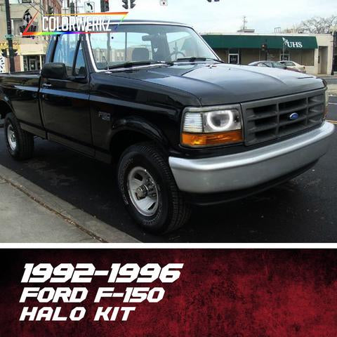 1992-1996 FORD F-150 HALO KIT - Outrageous Lighting