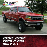 1992-1997 FORD F-250 HALO KIT - Outrageous Lighting