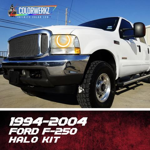 1994-2004 FORD F-250 HALO KIT - Outrageous Lighting