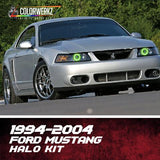 1994-2004 FORD MUSTANG HALO KIT - Outrageous Lighting