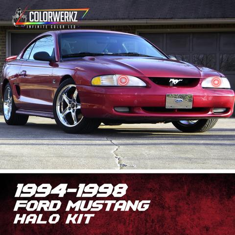 1994-1998 FORD MUSTANG HALO KIT - Outrageous Lighting