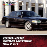 1998-2011 FORD CROWN VICTORIA HALO KIT - Outrageous Lighting