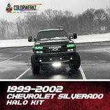 1999-2002 SILVERADO HEADLIGHT HALOS - Outrageous Lighting