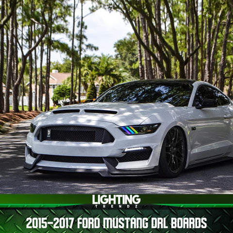 2015-2016 FORD MUSTANG MULTICOLOR DRL LED BOARDS