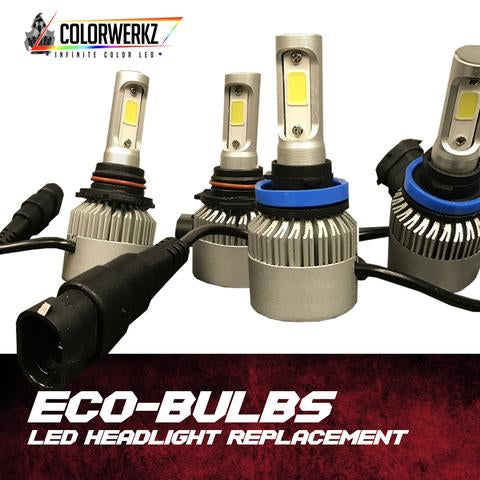 ECO-BULB LED HEADLIGHT REPLACEMENT - Outrageous Lighting