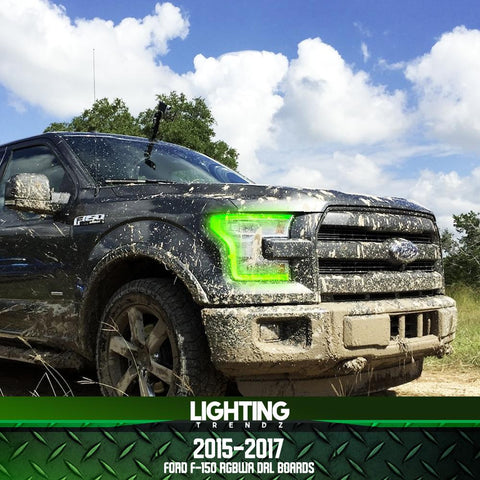 2015-2016 FORD F-150 MULTICOLOR LED DRL BOARDS