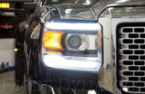 2014-2016 GMC SIERRA MULTICOLOR DRL LED BOARDS - Outrageous Lighting