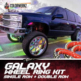 GALAXY WHEEL RING (SINGLE ROW OR DOUBLE ROW) - Outrageous Lighting