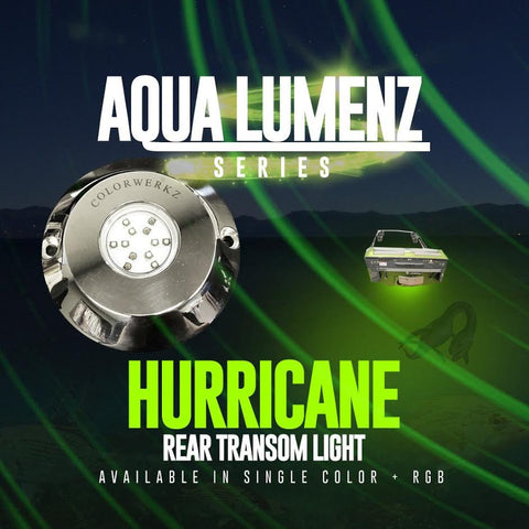 Hurricane Rear Transom Light (RGB) - Outrageous Lighting