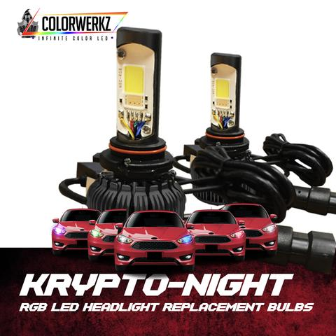 KRYPTO-NIGHT RGB LED HEADLIGHT REPLACEMENTS - Outrageous Lighting