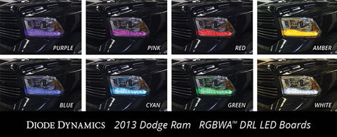 2013-2016 DODGE RAM MULTICOLOR DRL LED BOARDS - Outrageous Lighting