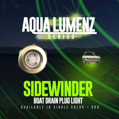 Sidewinder Boat Drain Plug Light (RGB) - Outrageous Lighting