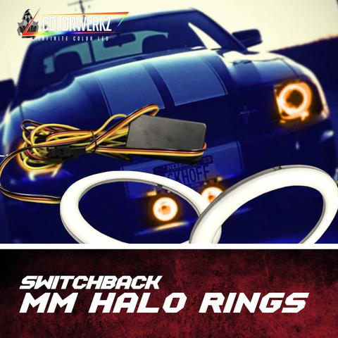 COLORWERKZ SWITCHBACK MM HALO RINGS - Outrageous Lighting