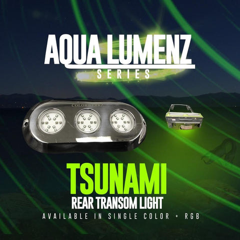 Tsunami Rear Transom Light (RGB) - Outrageous Lighting