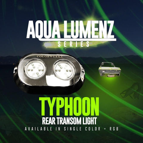 Typhoon Rear Transom Light (RGB) - Outrageous Lighting
