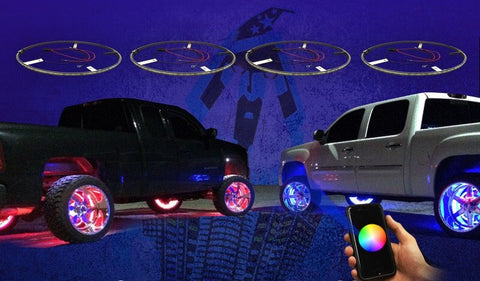 LED WHEEL RING KIT - Outrageous Lighting