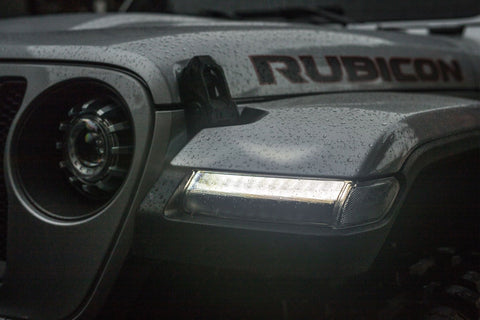 JEEP WRANGLER JL (18+): MORIMOTO XB LED SIDE MARKERS - Outrageous Lighting