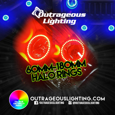 RGB HALO RINGS - Outrageous Lighting