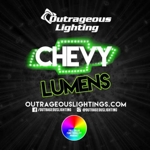 CHEVY MULTICOLOR COLOR - Outrageous Lighting