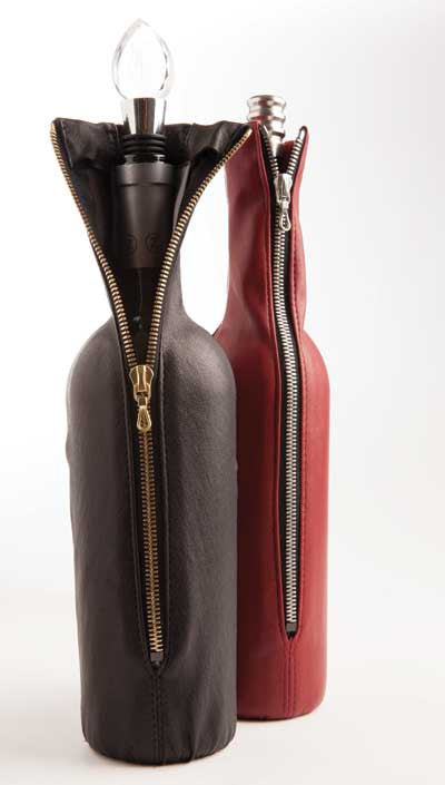 Leather Wine Glove