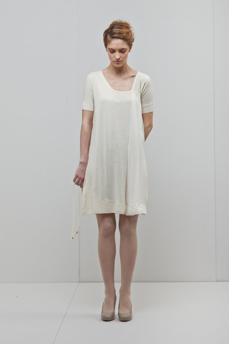 NFP Cream Mini Dress - The Greater Goods