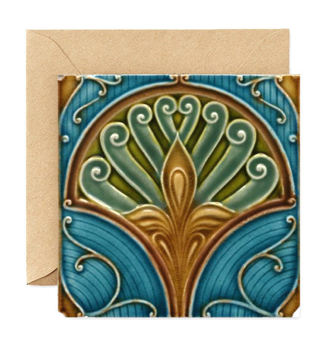 Nouveau Tiles Plate Four - The Greater Goods