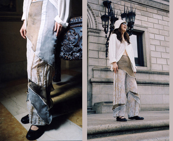 Translucent Silk Resort Pants